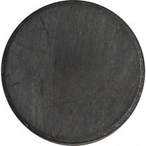 magnetische schijven 14,5 mm zwart 3 mm 50 stuks