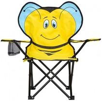 vouwstoel bij junior geel 60 x 34 x 66 cm