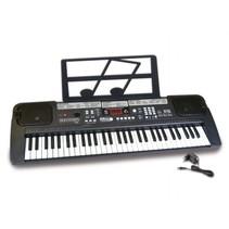 digitaal keyboard 61 toetsen 70 cm zwart