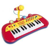Keyboard met Microfoon Rood