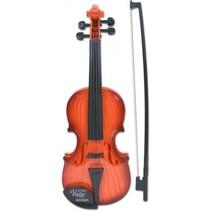 elektronische viool bruin 52 cm