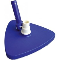 bodemstofzuigermond driehoek  27 cm blauw