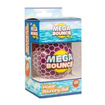 waterbal Mega Bounce H2O 7 cm paars 29 gram