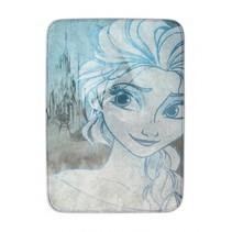 vloerkleed Frozen 70 x 95 cm ivoorwit/blauw