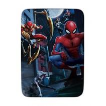 vloerkleed Spider-Man 70 x 95 cm blauw