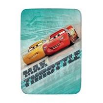 vloerkleed Cars max throttle 70 x 95 cm groen
