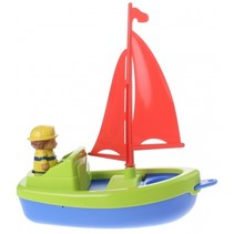 boot met figuur groen 22 cm