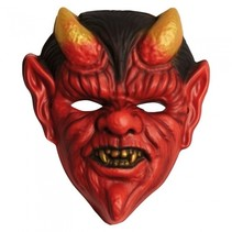 duivelsmasker rood onesize