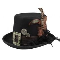 hoed steampunk bruin one size