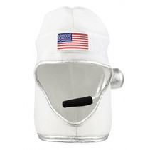 hoed astronaut heren wit one size