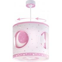 hanglamp draaiend Moonlight 26,5 cm roze