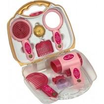 Princess Coralie speelset föhn roze/goud