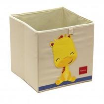 opbergbox giraffe 36 liter wit