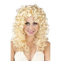 pruik Norah dames blond