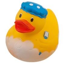 badeend badmuts geel 9 cm