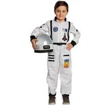 verkleedpak astronaut junior wit