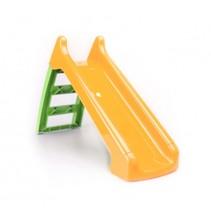 glijbaan oranje/groen 124 cm
