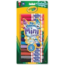 Washable Mini-markers Pip-Squeaks junior 14-delig
