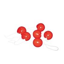 clownsneuzen 6 stuks rood