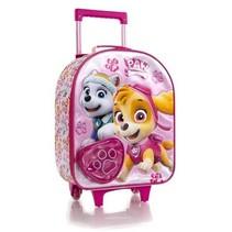 trolleykoffer Paw Patrol meisjes 21 liter hartje roze