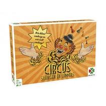 gezelschapsspel Spellen van toen: Circus/Slangen & Ladders
