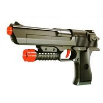 handgun pistool 24 cm zwart