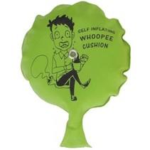 whoopie cushion scheetkussen 11 cm groen