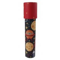 caleidoscoop ruimte 19 cm rood