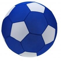 speelgoedvoetbal blauw 60 cm