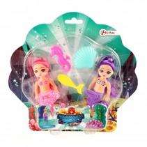 pop zeemeermin met accessoires 12 cm