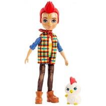 Enchantimals tienerpop Redward Rooster & Cluck 15 cm