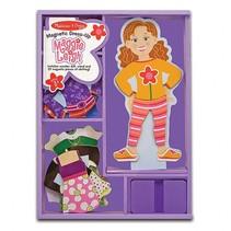 Houten aankleedpop Maggie 27-delig
