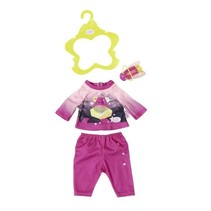 nachtoutfit Play&Fun 43 cm roze