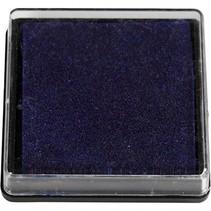inktkussen 40 x 40 mm donkerblauw
