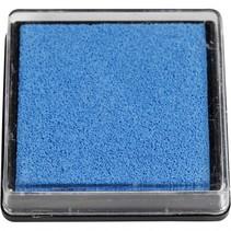 inktkussen 40 x 40 mm blauw