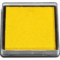 inktkussen 40 x 40 mm geel