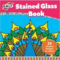 kleurboek glas-in-lood 21 x 21 cm