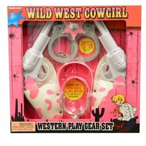 cowboyset meisjes 6-delig