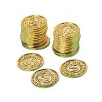 gouden munten 3,4 cm 144 stuks