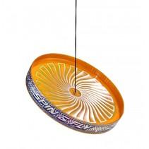 jongleerfrisbee Spin & Fly oranje 23 cm