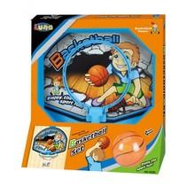 basketbalring Set 19,5 cm blauw