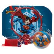 basketbalring met bal Superman rood 29 x 22 cm