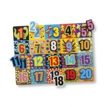 Jumbo Numbers Chunky puzzel 20-delig