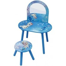 Frozen Make up tafel met krukje meisjes blauw