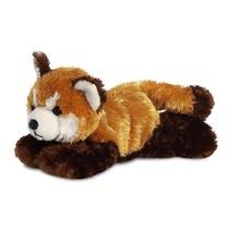 knuffel rode panda 20,5 cm bruin