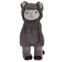 alpaca knuffel 30 cm grijs