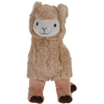 alpaca knuffel 30 cm bruin