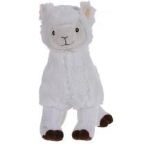 alpaca knuffel 30 cm wit