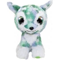knuffel Lumo Deer Bock groen 15 cm
