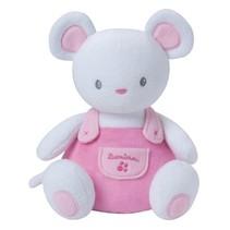 Glow In The Dark knuffel muis roze 22 cm